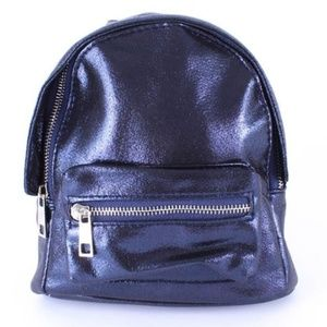 Handbags - NEW dark blue mini backpack bag